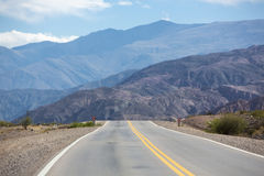 National Route 40 in Northern Argentina Stock Photo