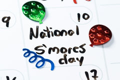 National s'mores day Stock Images