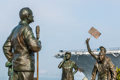 `A National Salute to Bob Hope` Memorial in San Diego Stock Image
