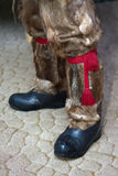 National Sami shoes - boots (hatchets) Stock Photography