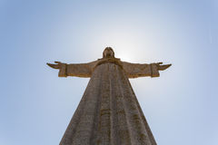 National sanctuary of Christ the King. Lisbon, Portugal Royalty Free Stock Photo