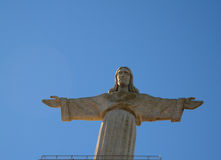 National Sanctuary of Christ the King statue, Lisbon, Portugal Royalty Free Stock Photos