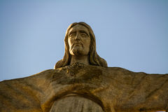 National Sanctuary of Christ the King statue, Lisbon, Portugal Royalty Free Stock Image