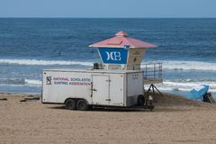 National Scholastic Surfing Association trailer Stock Photos