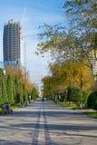 National Seaside Park in Baku city Royalty Free Stock Photo