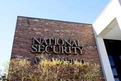 National Security and Trust, Memphis, TN. National Security and Trust, Business Alarm Services, located in Memphis, TN royalty free stock photo