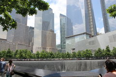 National September 11 Memorial & Museum. The 9/11 Memorial Museum Royalty Free Stock Photo