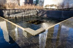 National September 11 Memorial, New York royalty free stock images