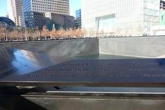 National September 11 Memorial Royalty Free Stock Photos