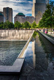 The National September 11th Memorial, in Manhattan, New York. Royalty Free Stock Photography