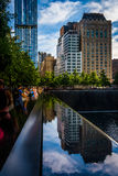 The National September 11th Memorial, in Manhattan, New York. Stock Photos