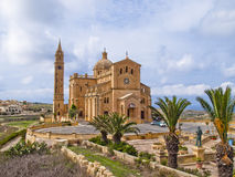 National Shrine of the Blessed Virgin of Ta' Pinu Royalty Free Stock Photography