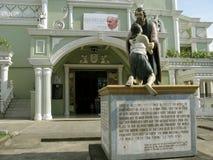 National Shrine of Divine Mercy in Marilao, Bulacan. Main Church by the National Shrine of Divine Mercy in Marilao, Bulacan Royalty Free Stock Photography