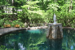 NATIONAL SHRINE GROTTO OF LOURDES Royalty Free Stock Photos