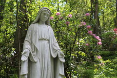 NATIONAL SHRINE GROTTO OF LOURDES Royalty Free Stock Photography