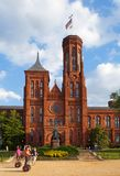 National Smithsonian Institute in Washington DC royalty free stock images