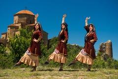 National Song and Dance Ensemble of Georgia Erisioni Stock Photo