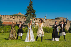 National Song and Dance Ensemble of Georgia Erisioni Royalty Free Stock Images