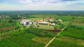 BANTING, SELANGOR MALAYSIA - MARCH 4, 2019 : Pusat Angkasa Negara   Agensi Angkasa Negara Building , Capture from aerial view royalty free stock images
