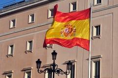 National Spanish flag Royalty Free Stock Photo
