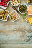 National Spanish tapas Stock Image