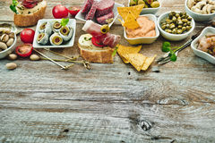 National Spanish tapas Stock Images