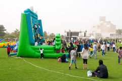 National Sports Day, MIA Park, Doha, Qatar Stock Photo