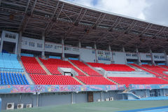 National Stadium in Nassau. NASSAU, USA - MARCH 12, 2015: The Thomas A Robinson National Stadium Stock Images