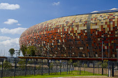 The National Stadium outside Soweto Royalty Free Stock Photos