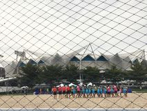 National Stadium park Bangkok Thailand - 1 October 2017 Stock Photography