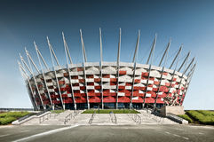 National stadium. Of Poland 2012 Stock Photography