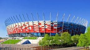 National Stadium of Poland, UEFA 2012 Stock Photos