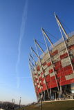 The National Stadium in Warsaw Stock Photos