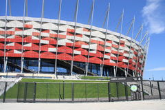National Stadium in Warsaw stock photo