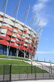 National Stadium in Warsaw Stock Photography