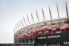 National Stadium in Warsaw, Poland Stock Image