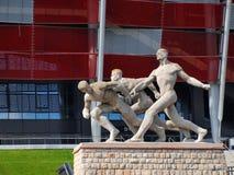 National Stadium in Warsaw, Poland Stock Image
