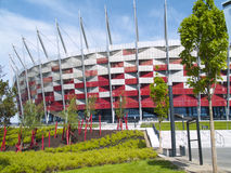 National stadium, Warsaw, Poland Stock Photography