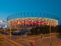 National stadium, Warsaw, Poland Royalty Free Stock Photos