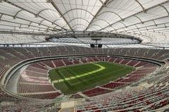 The National Stadium in Warsaw, Poland Stock Photo