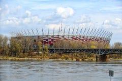 National stadium in Warsaw Stock Photos