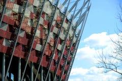 National stadium in Warsaw Royalty Free Stock Image