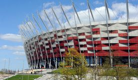 National stadium in Warsaw Royalty Free Stock Images