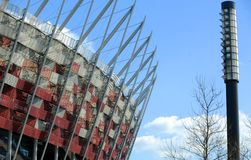 National stadium in Warsaw Royalty Free Stock Image