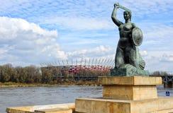 National stadium in Warsaw Stock Image