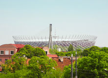 National Stadium in Warsaw. Stock Image
