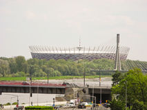 National Stadium in Warsaw. Stock Photo