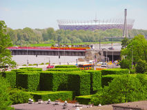 National Stadium in Warsaw. Stock Photos