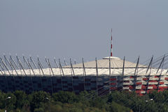 National Stadium in Warsaw Stock Photos