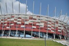 National stadium in Warsaw Royalty Free Stock Photos